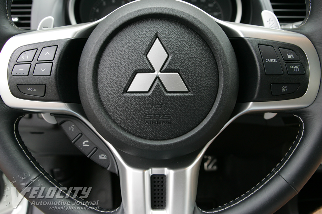 2008 Mitsubishi Lancer Evolution Instrumentation