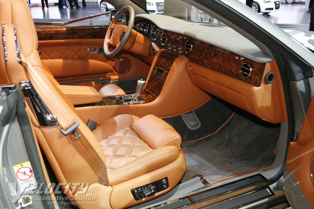 2009 Bentley Azure Interior