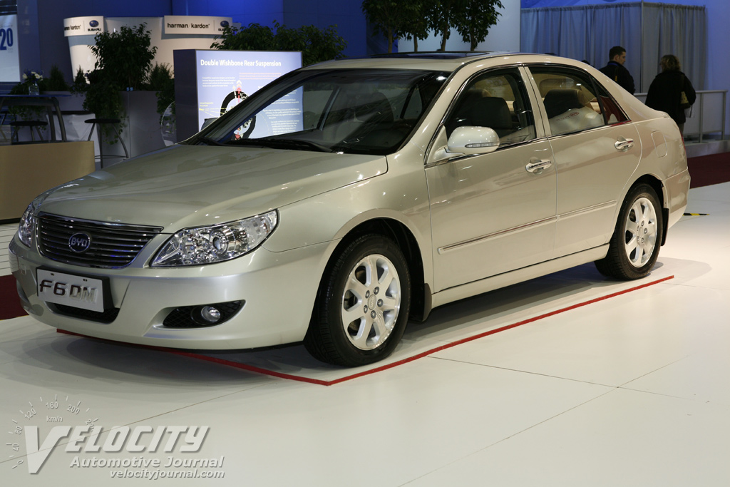 2009 Byd Auto F6 Dm Information