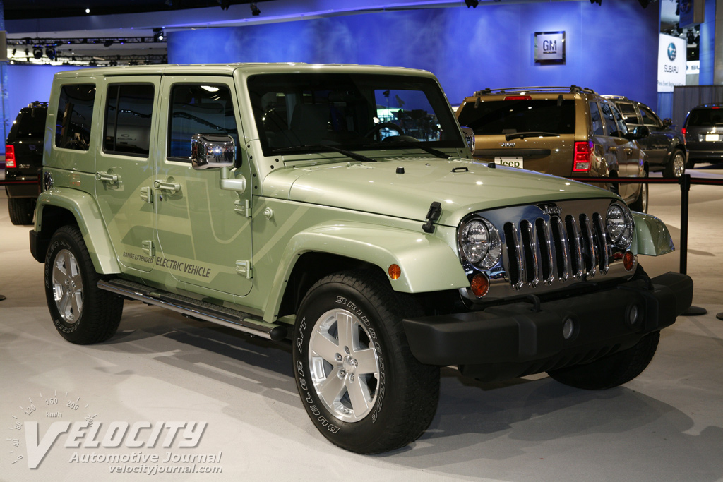 2008 Jeep Wrangler Unlimited EV