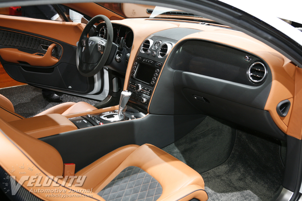2010 Bentley Continental Supersports Interior