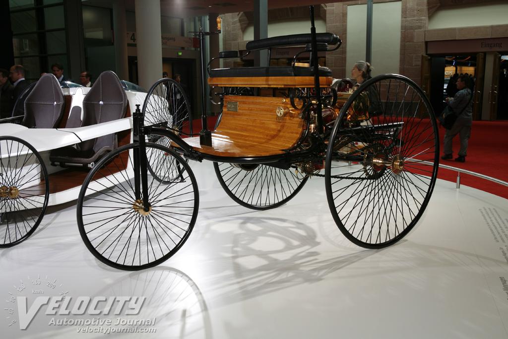 1886 Daimler Patent Car