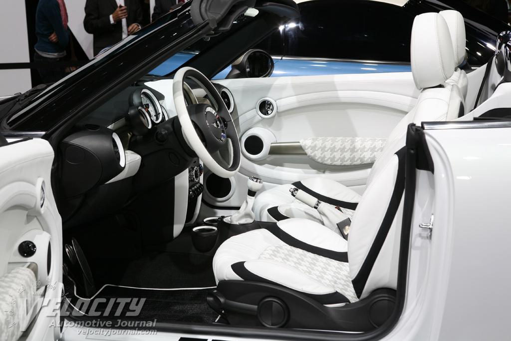 2009 Mini Roadster Concept Interior