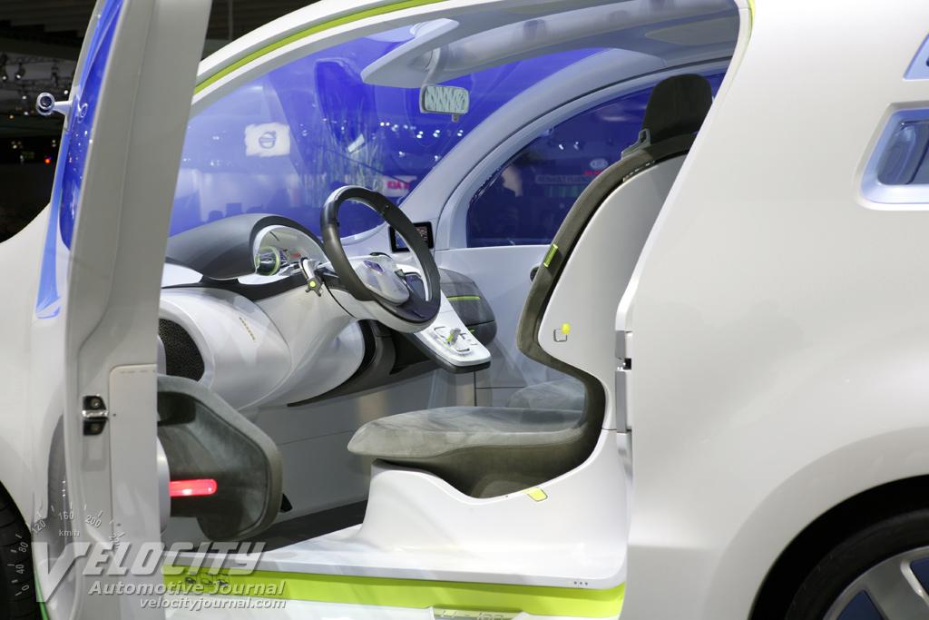 2009 Renault Kangoo Zero Emission Interior