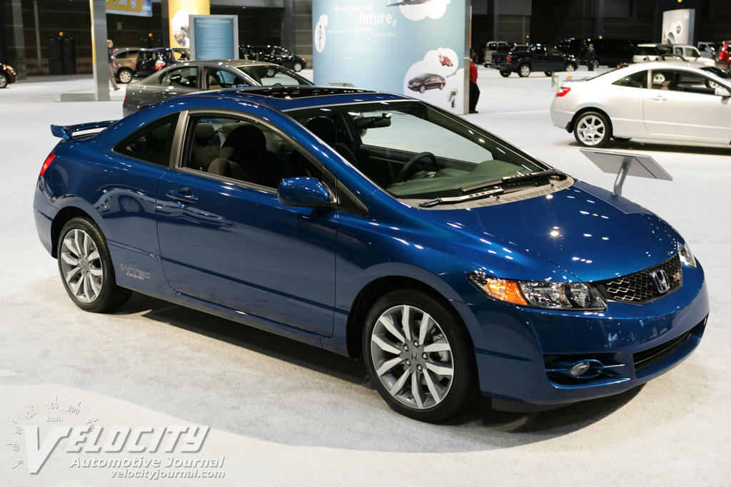 picture of 2009 honda civic coupe. Black Bedroom Furniture Sets. Home Design Ideas