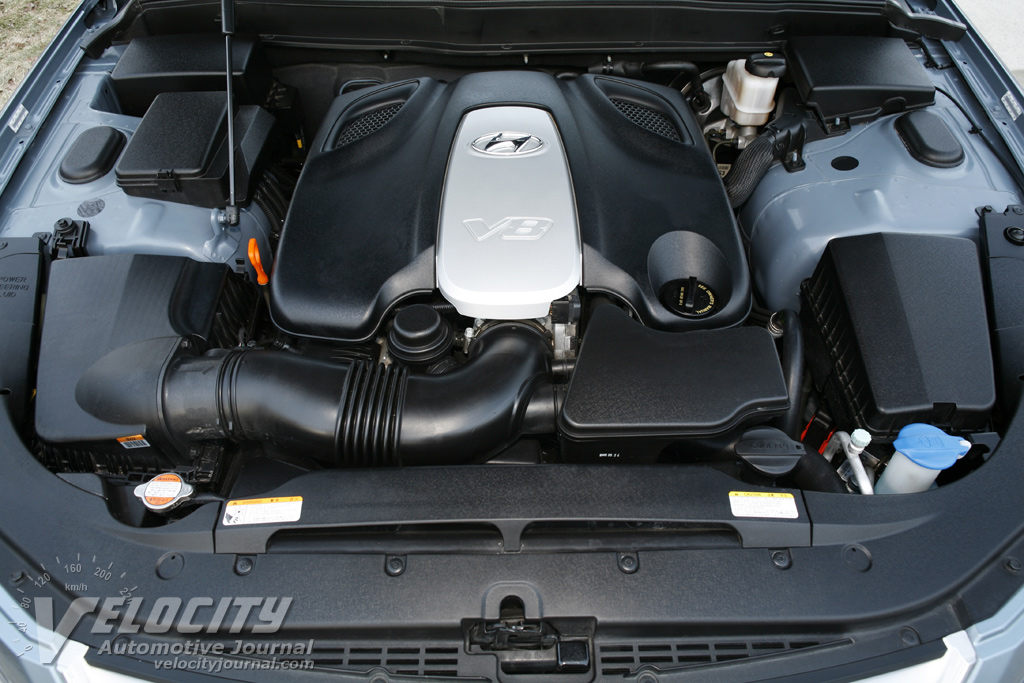2009 Hyundai Genesis Engine