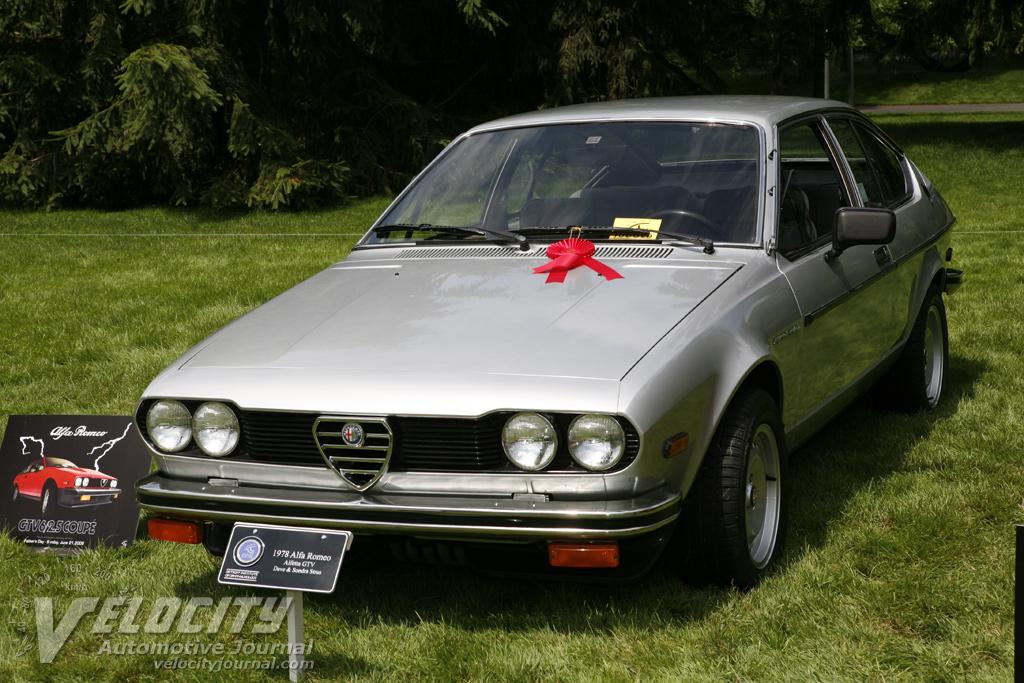 1978 Alfa Romeo Alfetta GTV