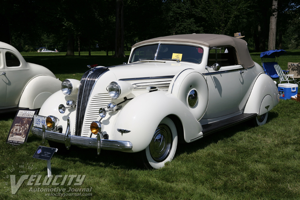 1937 Hudson Series 75 Convertible Coupe