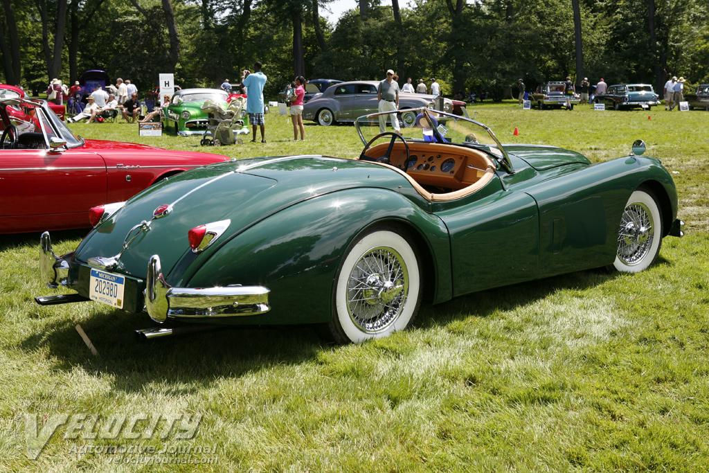 1957 Jaguar XK 140 MC OTS