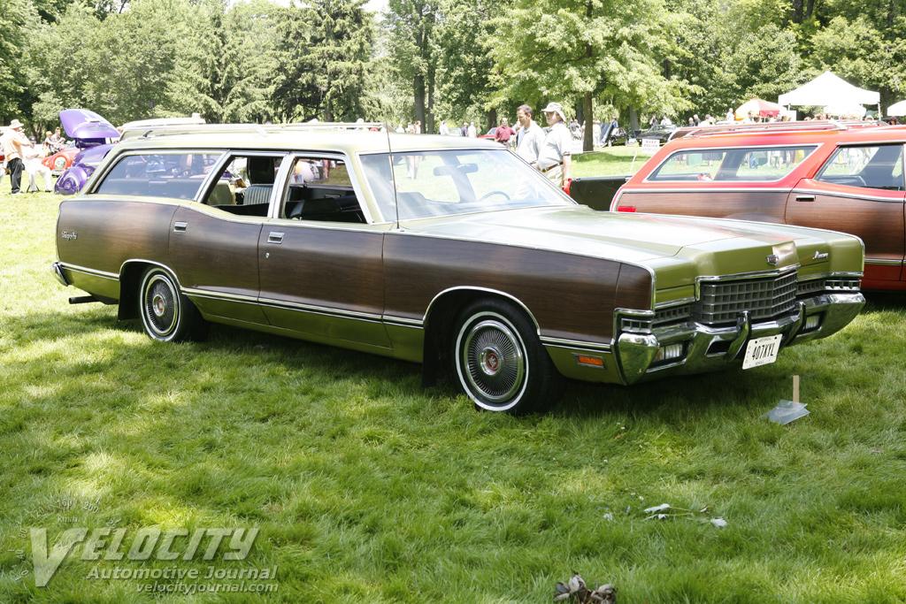 1972 Mercury Marquis Colony Park Wagon