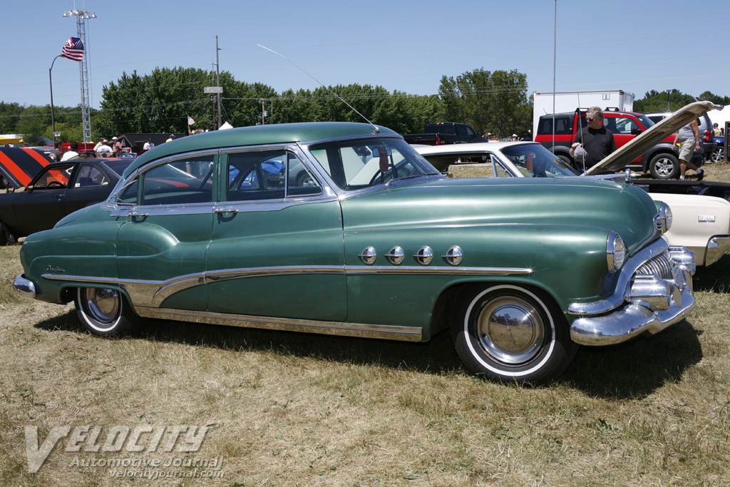 1951 Buick Roadmaster Riviera Sedan