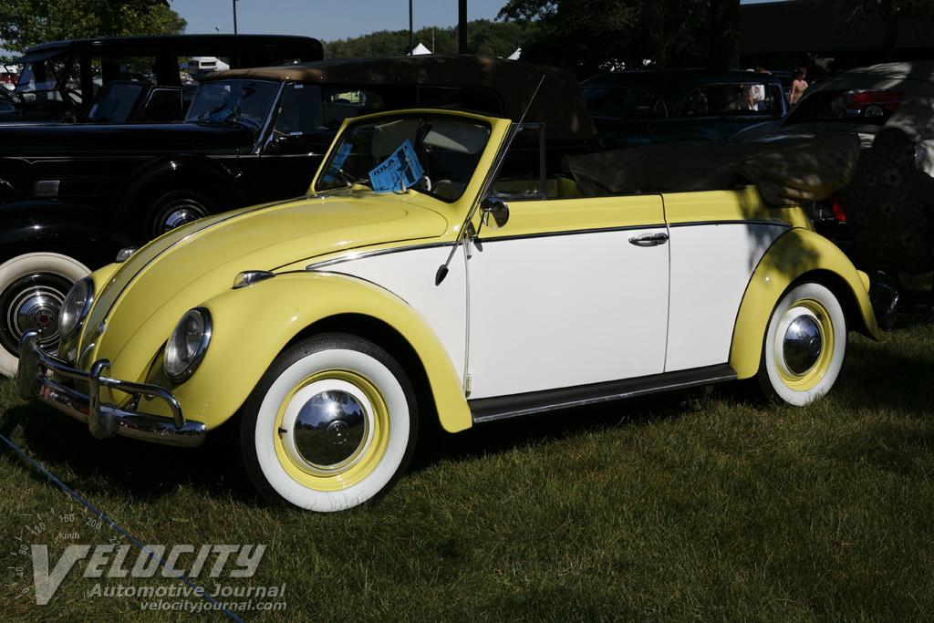 vw beetle convertible. 1958 Volkswagen Beetle