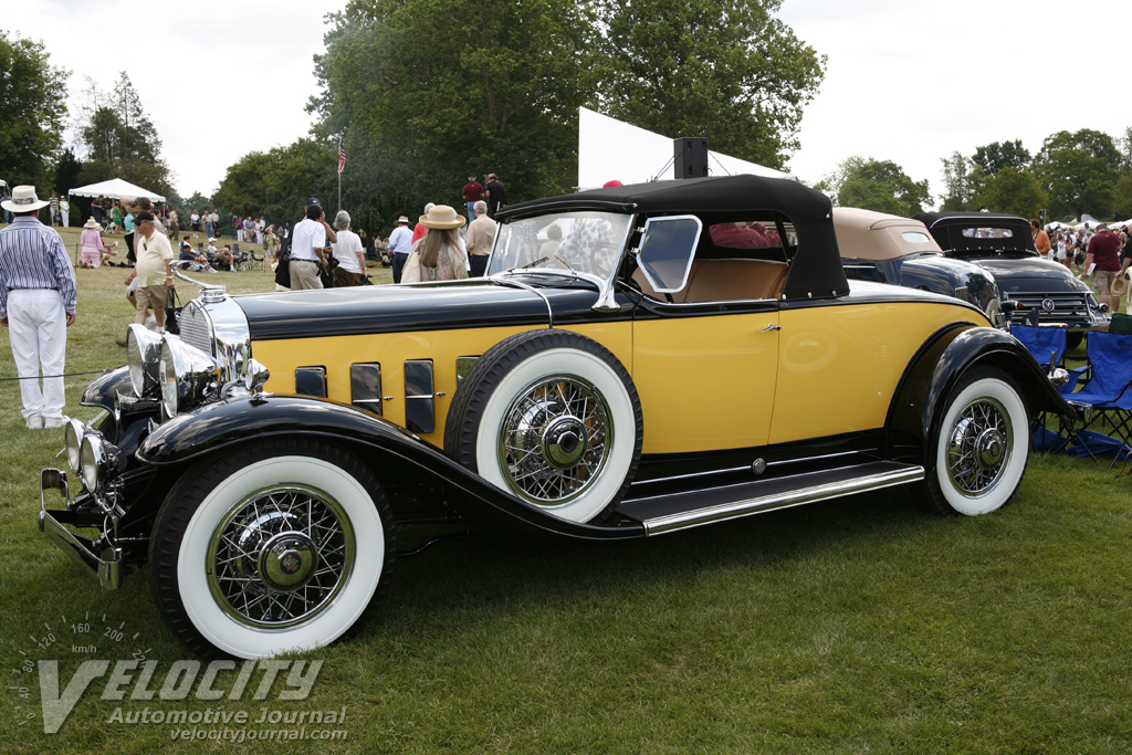 1931 Cadillac 370A Roadster by Fisher