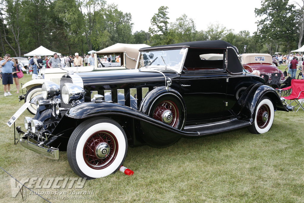 1932 Cadillac 355B V-8 Convertible Coupe