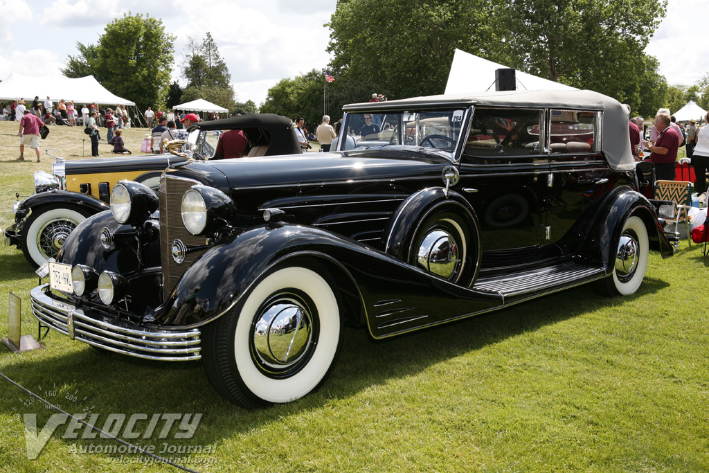 1933 Cadillac 452-C 5579 4d All-Weather Phaeton