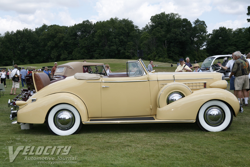 1936 Cadillac Series 60 convertible coupe