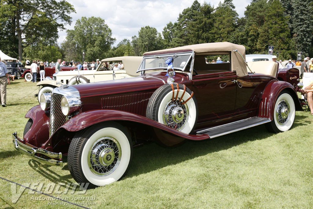 1931 Chrysler CG convertible coupe by LeBaron