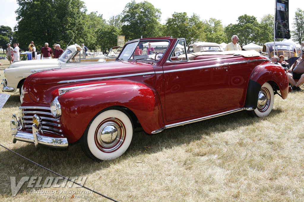 1941 Chrysler Windsor Highlander Convertible