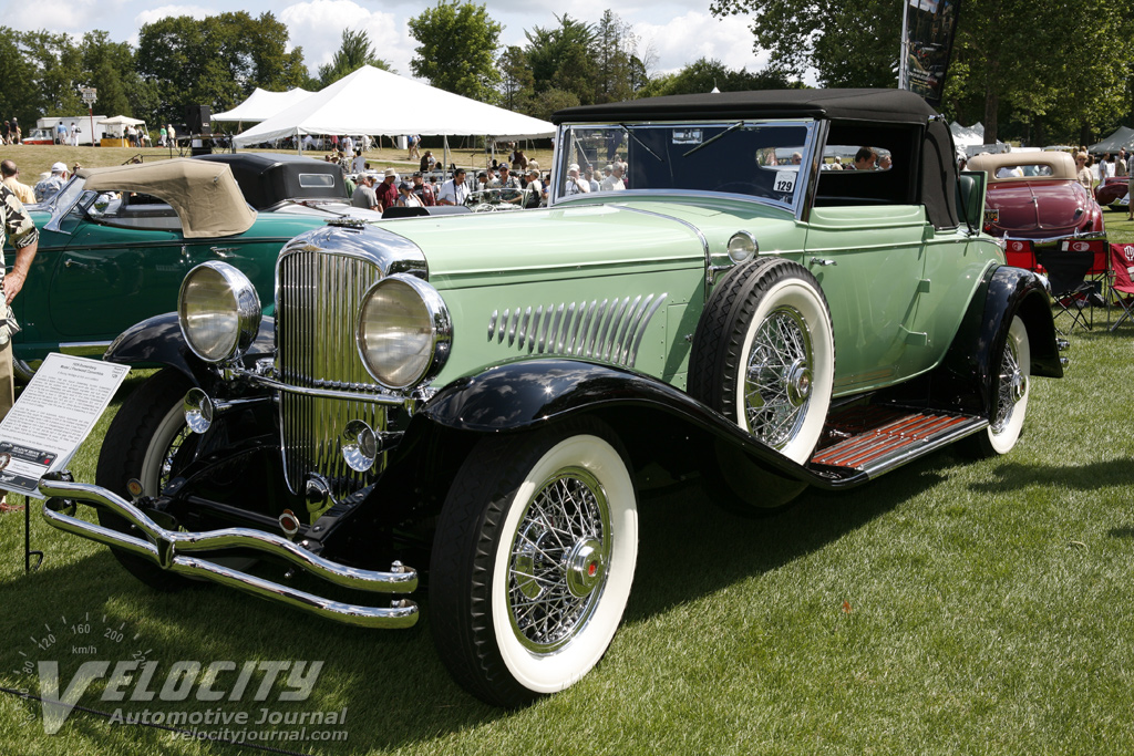 1929 Duesenberg J Fleetwood Convertible