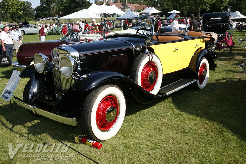 1931 Graham Model 621 dual cowl phaeton