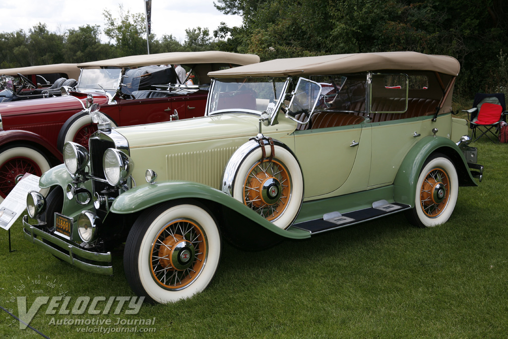 1931 Hupmobile Century Eight Phaeton