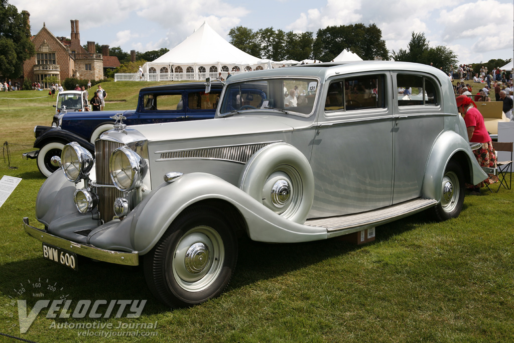1937 Hudson Railton 4-door sedan by Ripon Bros