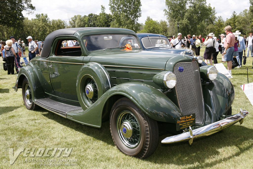 1935 Lincoln Model K Coupe by LeBaron
