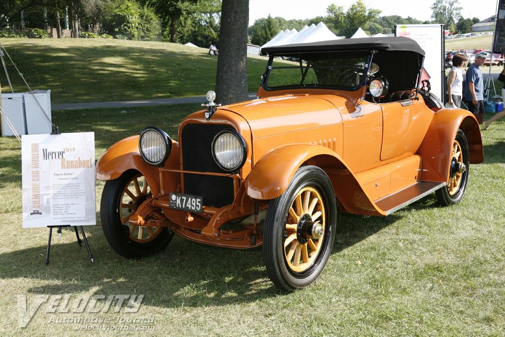 1917 Mercer 22-73 runabout