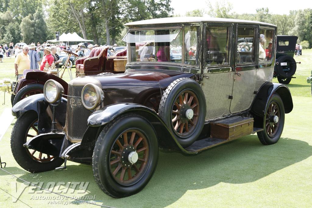1918 Panhard & Levassor 4d