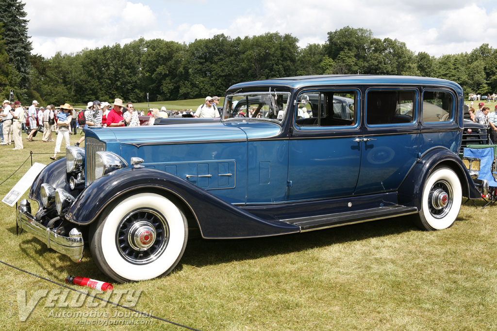 Picture Of 1934 Packard Model 1108 Limousine
