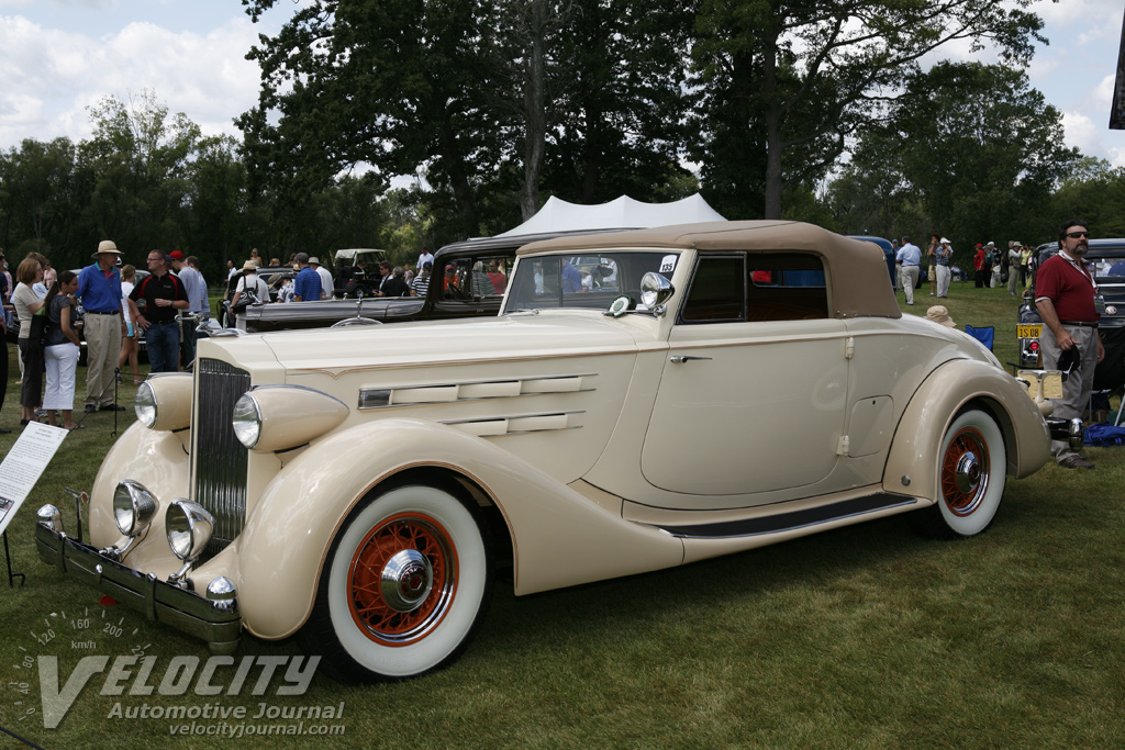 1935 Packard Twelve Dietrich Coupe Roadster