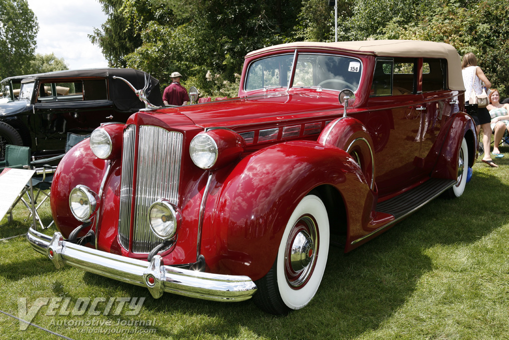 1938 Packard 1605 Convertible Sedan