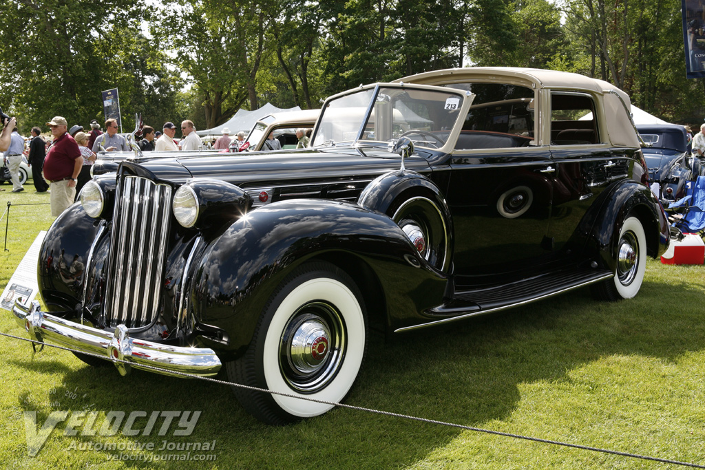 1938 Packard Twelve Model 1708 all-weather cabriolet by Brunn