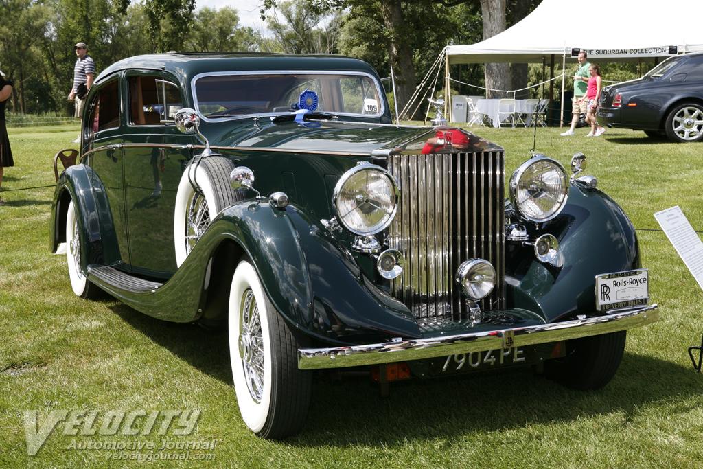 1936 Rolls-Royce PIII Sport Saloon by Gurney Nutting