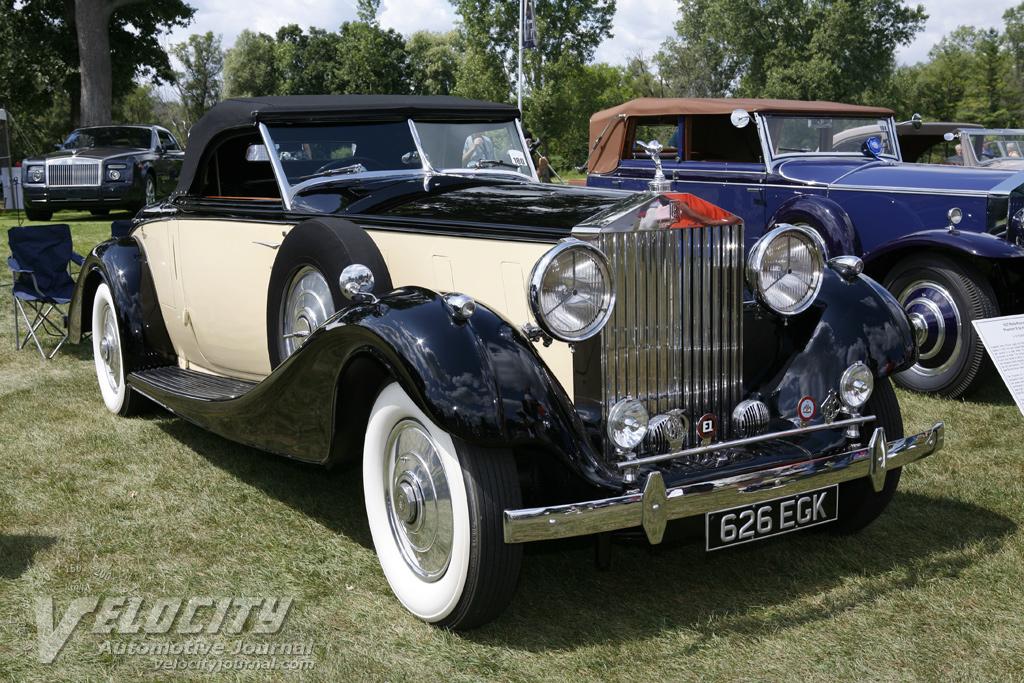 1937 Rolls-Royce Phantom III by Inskip