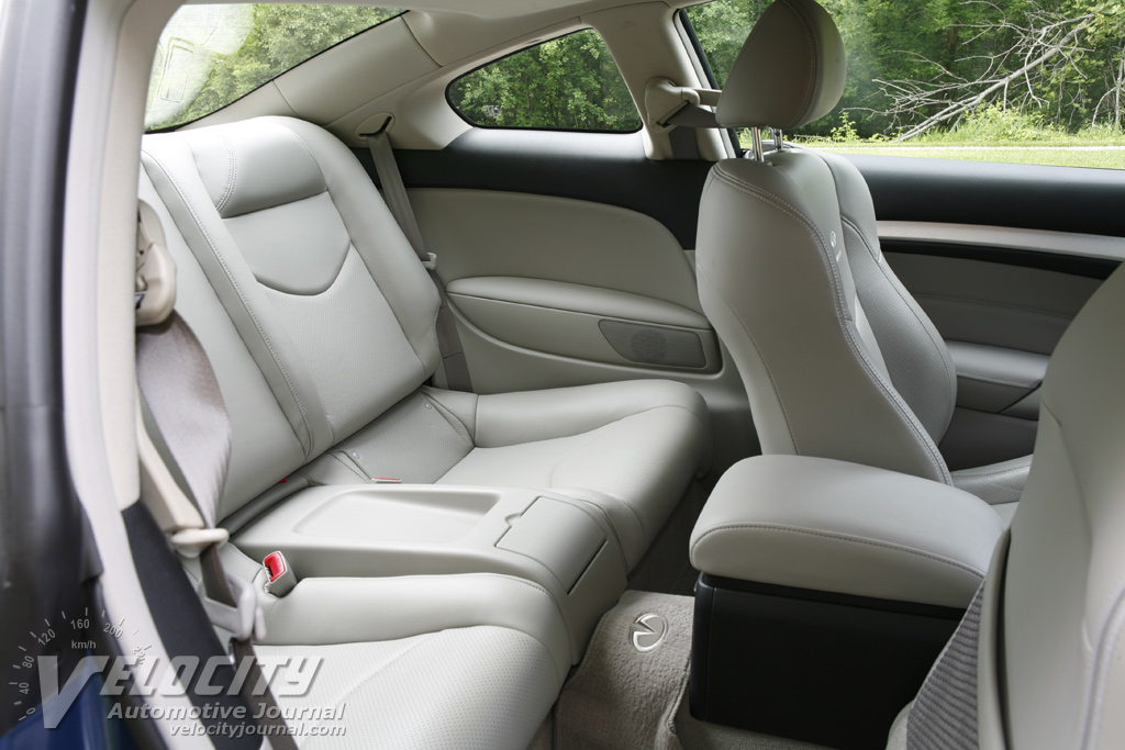 2009 Infiniti G Coupe Interior