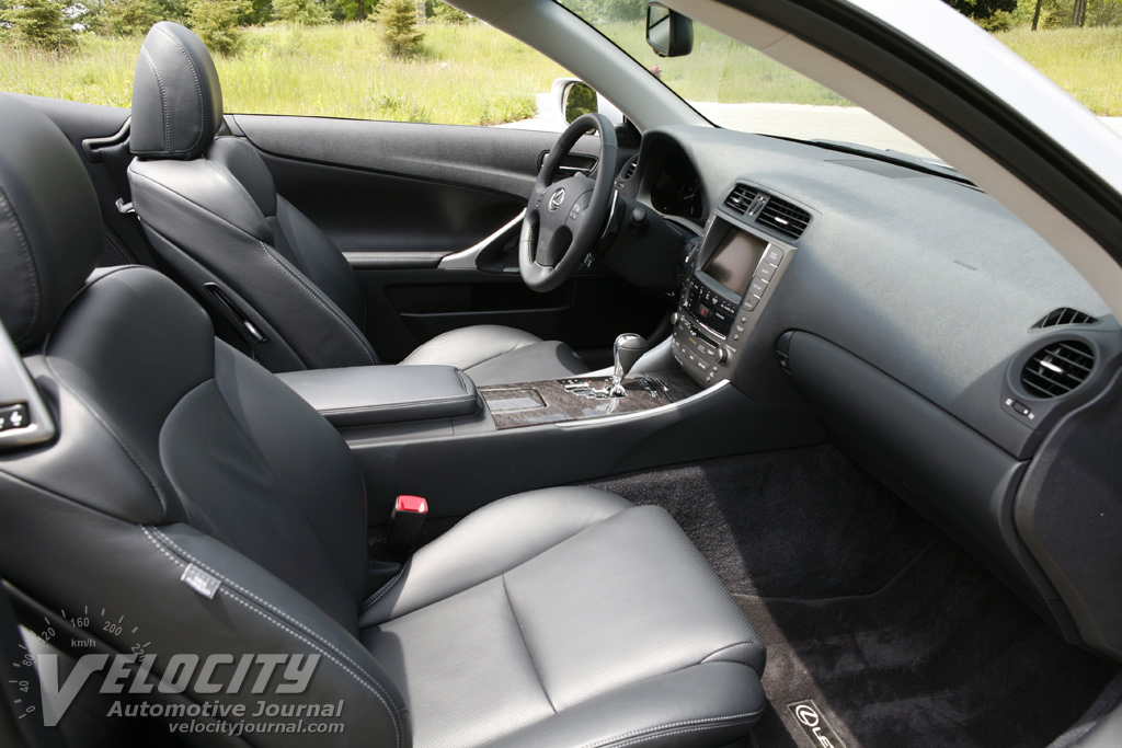 2010 Lexus IS C Interior