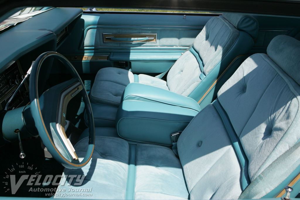 1976 Lincoln Continental Mark IV Interior