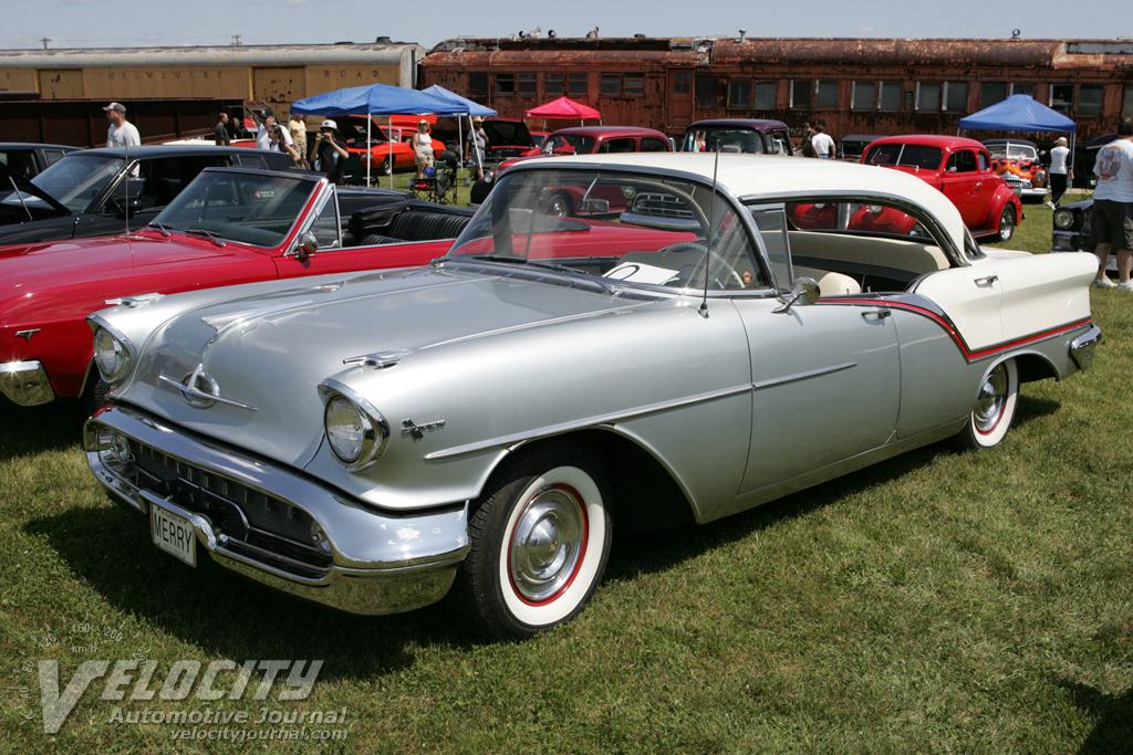 1957 Oldsmobile 88 Series 4-door hardtop