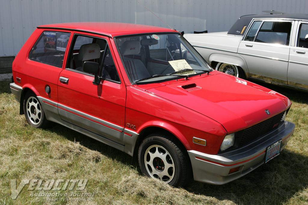 1988 Yugo 2dr hatchback