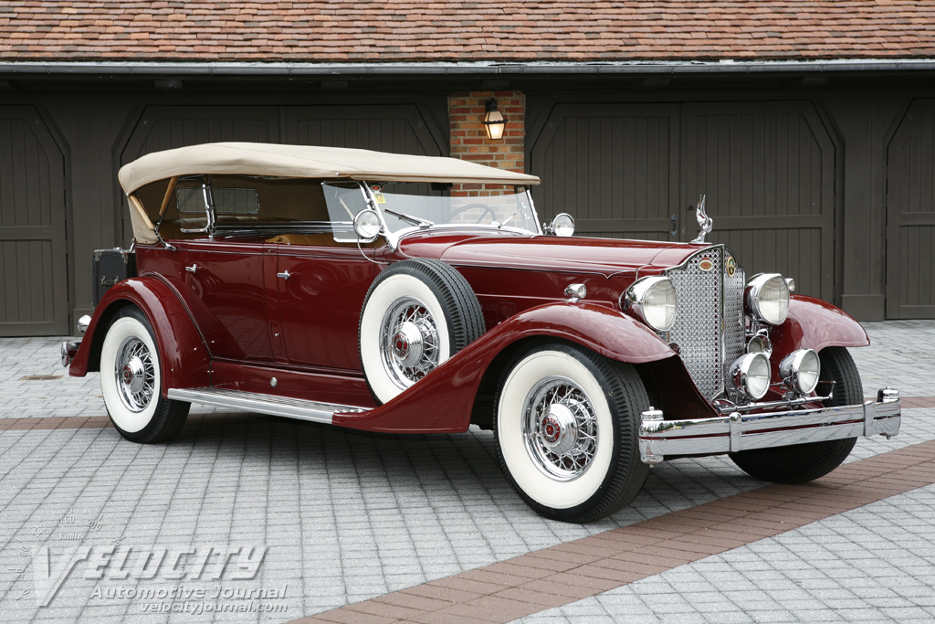 1933 Packard Twelve Five-Passenger Sport Phaeton