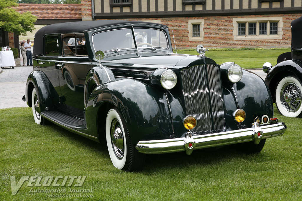 1938 Packard Convertible Sedan
