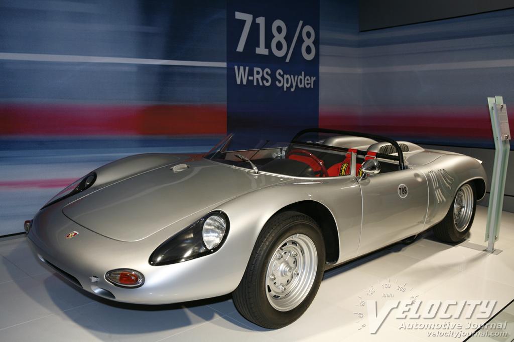 1962 Porsche 718/8 W-RS Spyder
