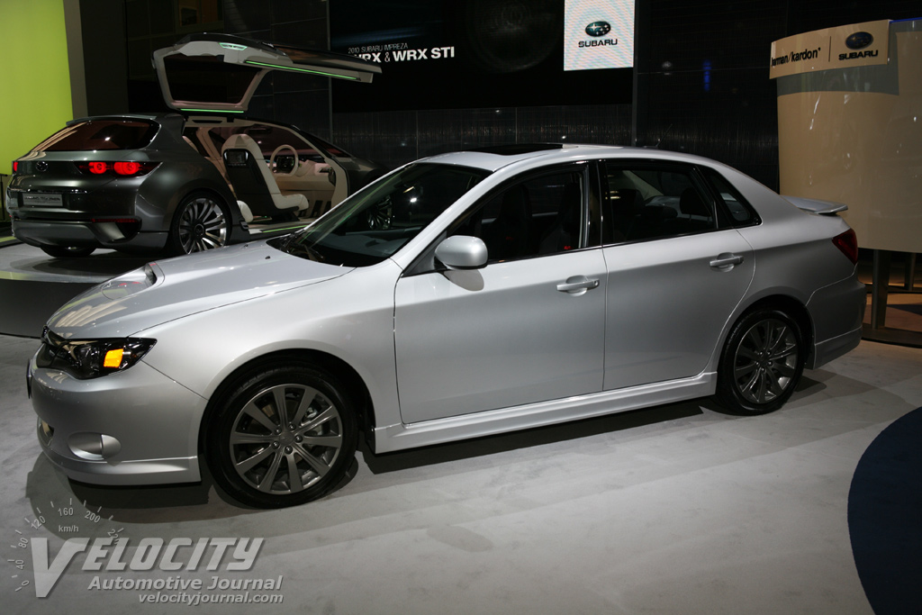2010 Subaru Impreza Wrx Sedan Pictures