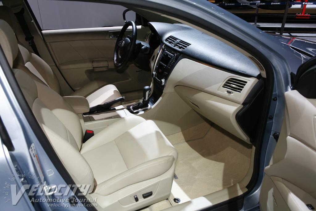 2010 Suzuki Kizashi Interior