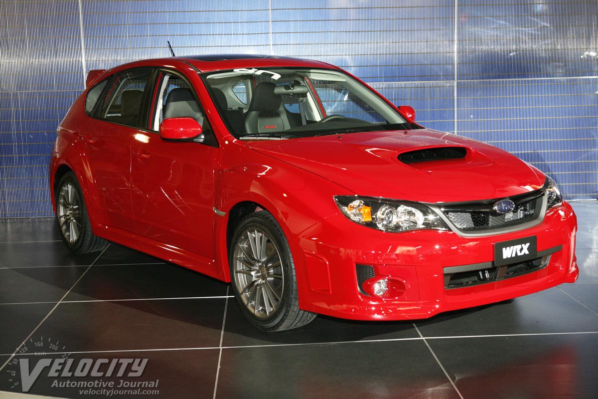 2011 Subaru Impreza WRX 5d