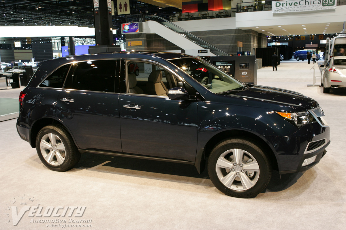 Picture Of 2010 Acura Mdx
