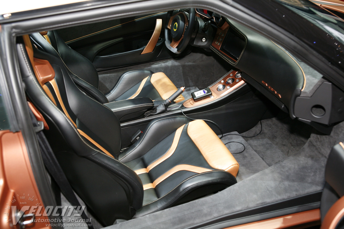 2010 Lotus Evora 414E Hybrid Interior