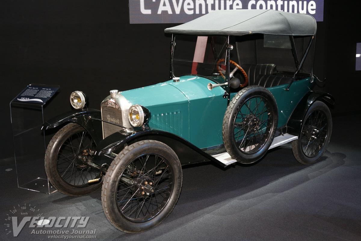 1920 Peugeot Type 172