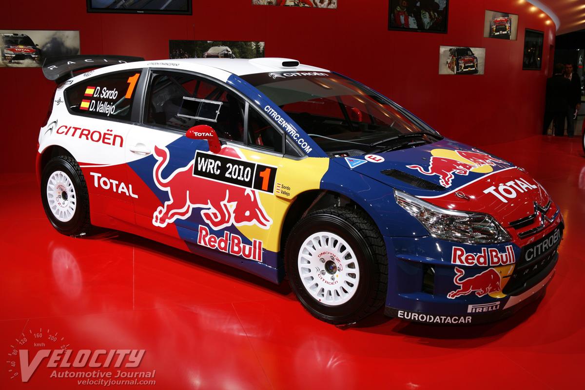 2010 Citroen WRC Racer